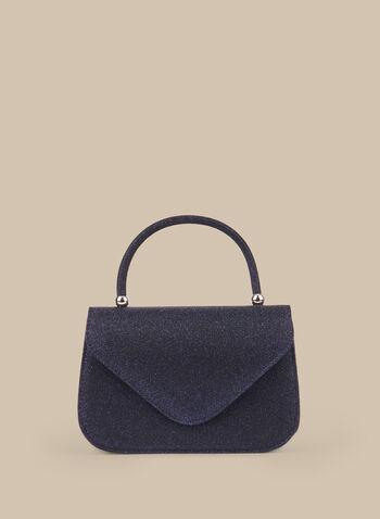 Glitter Handheld Bag, Blue,  clutch, bag, glitter, evening bag, envelope clutch, spring 2020, summer 2020, purse
