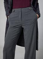 Pantalon coupe Soho rayé , Gris