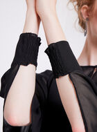 Long Sleeve Chiffon Bolero , Black, hi-res
