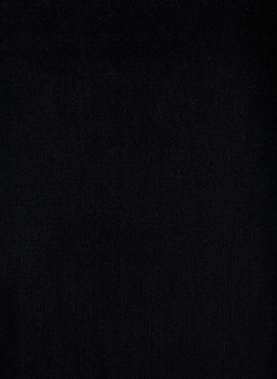 Fringe Scarf, Black, hi-res