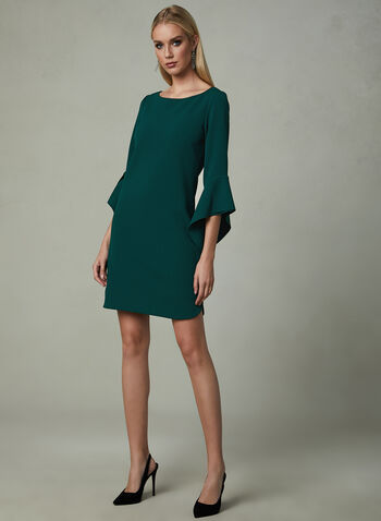 Vince Camuto - Angel Sleeve Dress, Green, hi-res
