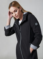Chillax - Hooded Raincoat, Black, hi-res