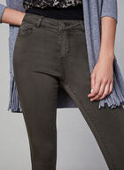 Sculpting Slim Leg Jeans, Green