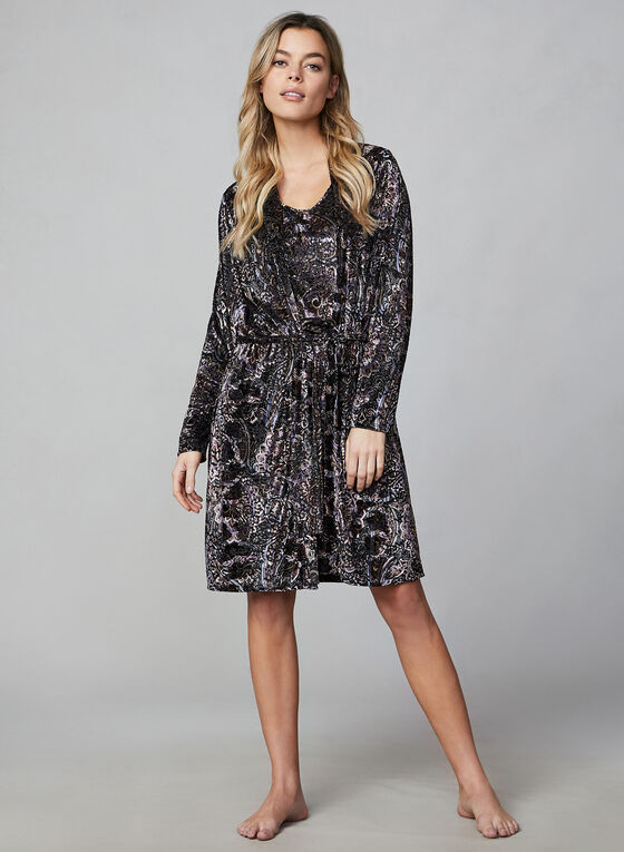 Hamilton - Nightshirt & Robe, Multi
