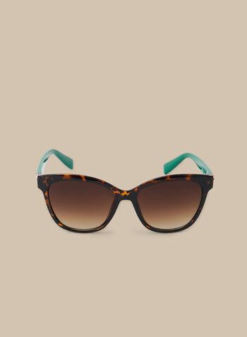 Lunettes de soleil tortoise, Vert,  printemps été 2020, lunettes, lunettes de soleil, tortoise, accessoire