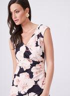 Adrianna Papell - Robe de jour à motif floral , Multi, hi-res