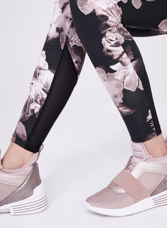 Frank Lyman - Legging à motif floral, Noir, hi-res