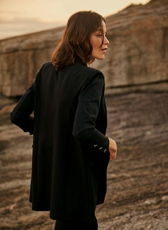 Joseph Ribkoff - Military-Style Jacket, Black