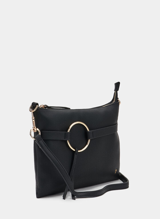 Rectangle Clutch, Black, hi-res