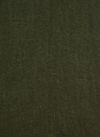 Écharpe pashmina texturée, Vert, hi-res,  écharpe, pashmina, franges, automne hiver 2019