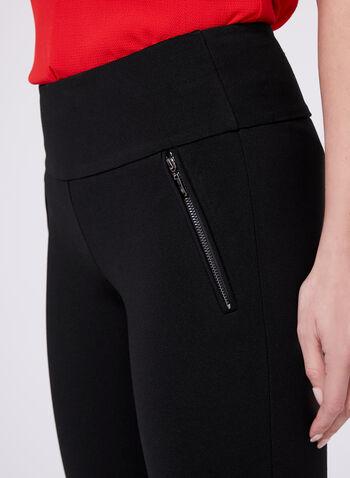 Pantalon coupe Madison à jambe étroite, Noir, hi-res