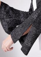 Lurex Weave Cropped Blazer , Grey, hi-res