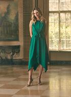 Maggy London - Robe à détail nœud, Vert