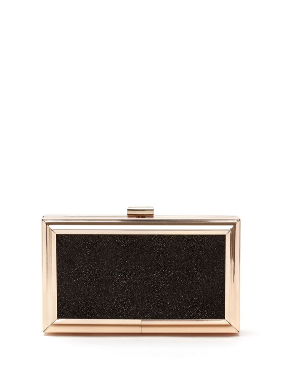 Metal Frame Box Clutch | Melanie Lyne