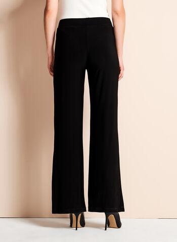 Frank Lyman Wide Leg Button Detail Pants, , hi-res