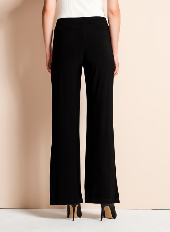 Frank Lyman - Pantalon taille haute à jambe large , Noir, hi-res