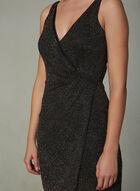 Maggy London - Glitter Wrap Dress, Multi, hi-res