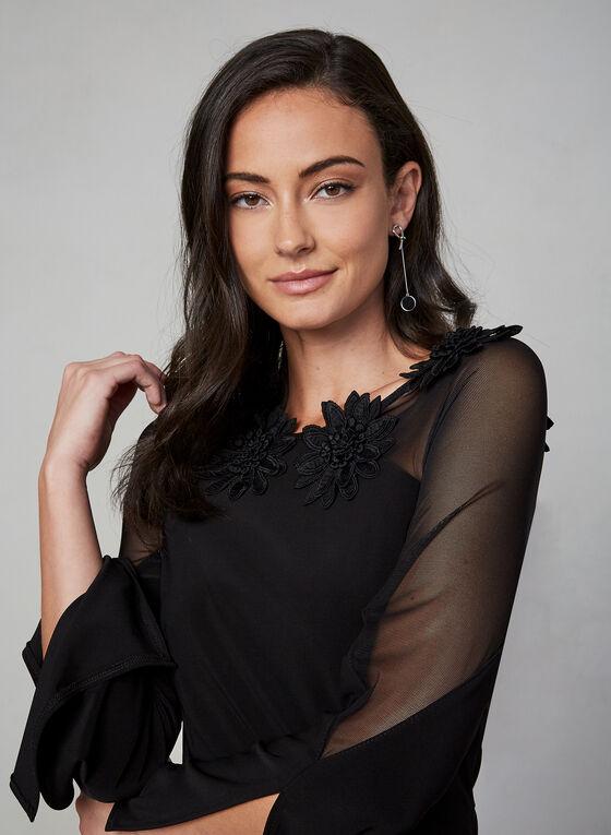 Frank Lyman - Long Sleeve Dress, Black