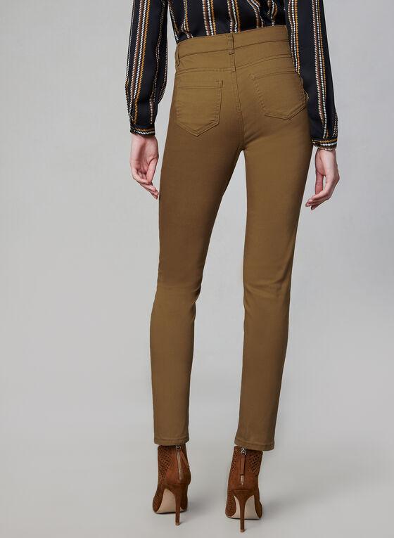 Jeans coloré à jambe étroite, Or, hi-res