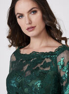 Decode 1.8 - Sequin Lace Sheath Dress, Green, hi-res