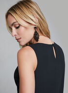 Sleeveless Blouse, Black