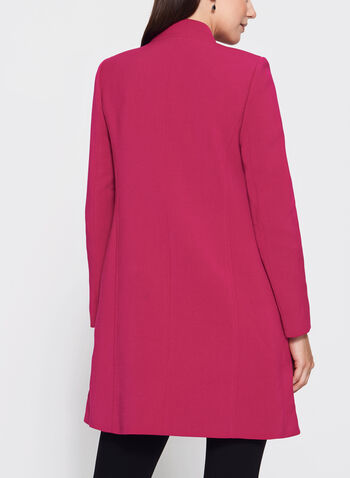 T Tahari - Inverted Notch Collar Jacket, , hi-res