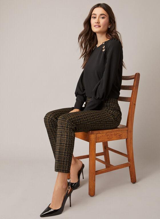 Slim Leg Madison Pants, Black
