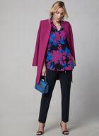 Tunique chemisier à motif floral, Multi