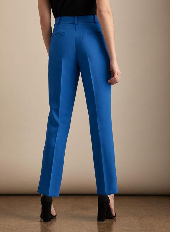 Slim Leg Giselle Pants, Blue