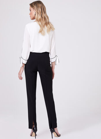 Joseph Ribkoff – Straight Leg Pants, Black, hi-res