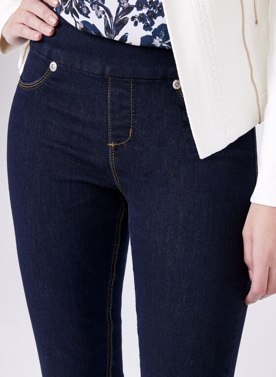 Carreli Jeans - Straight Leg Pull-On Jeans, Blue, hi-res