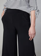 Wide Leg Culottes, Black, hi-res