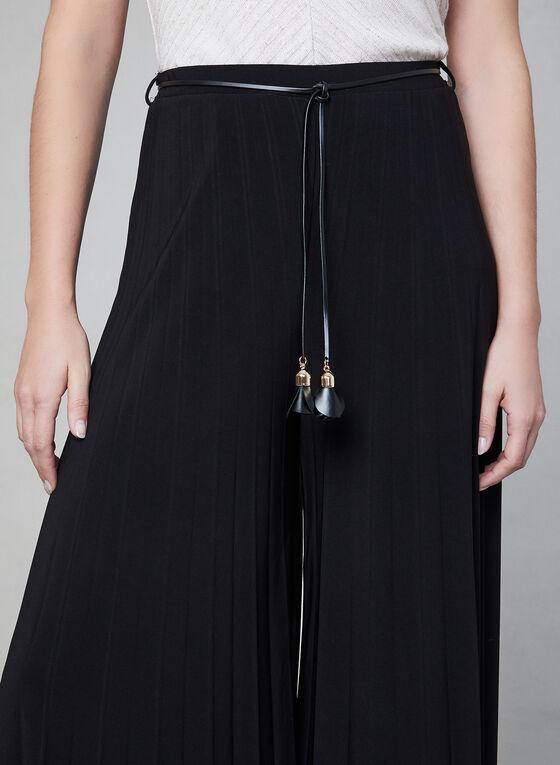 Frank Lyman - Jupe-culotte plissée, Noir
