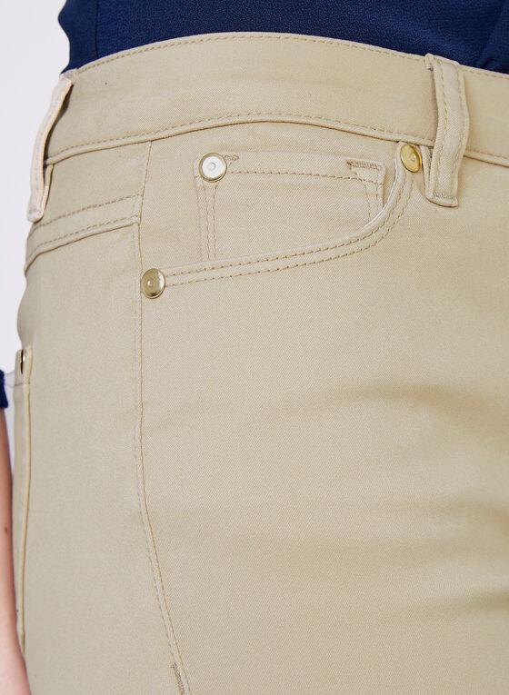 Jean cheville Superdoux à jambe étroite, Blanc cassé, hi-res