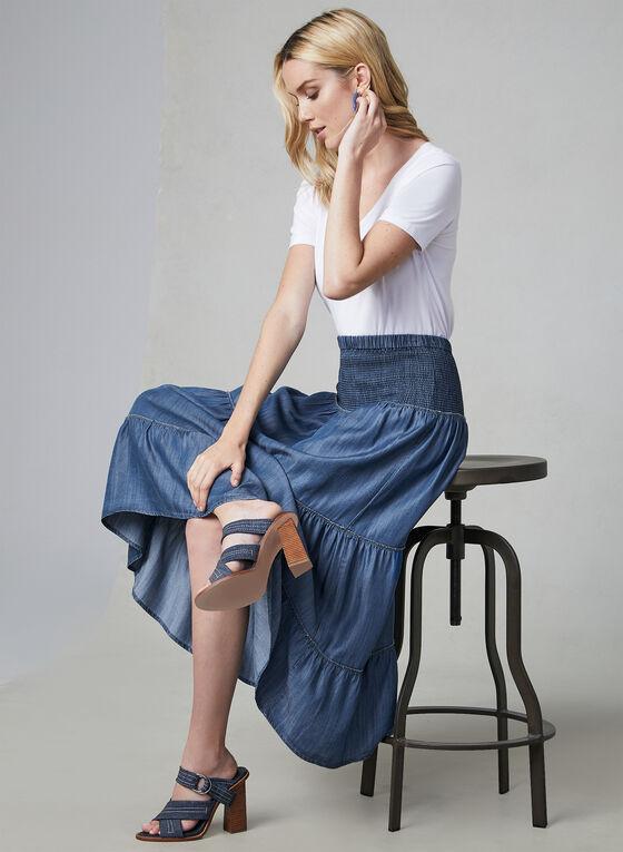 Linea Domani - Pull-On Skirt, Blue