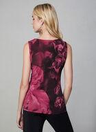 Floral Print Sleeveless Top, Multi, hi-res