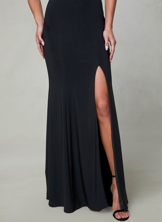 BA Nites - Off The Shoulder Dress, Black