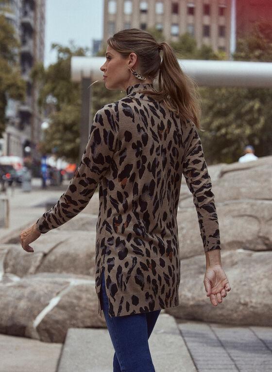 Leopard Print Tunic, Beige