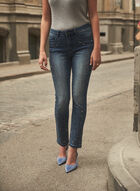 Joseph Ribkoff - Crystal Detail Jeans , Blue