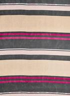Vince Camuto - Stripe Print Scarf, Purple, hi-res