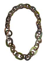Lucite Link Necklace, , hi-res