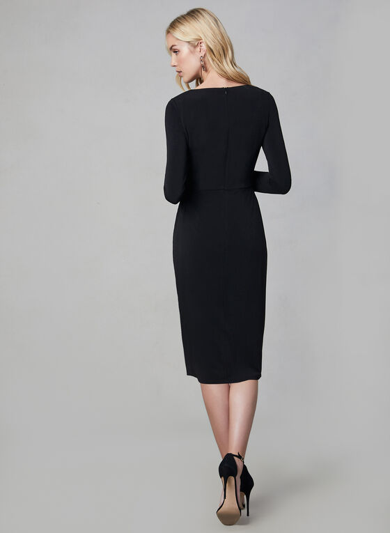 Maggy London - Long Sleeve Dress, Black, hi-res