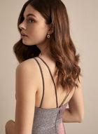 BA Nites - V-Neck Glitter Gown, Pink