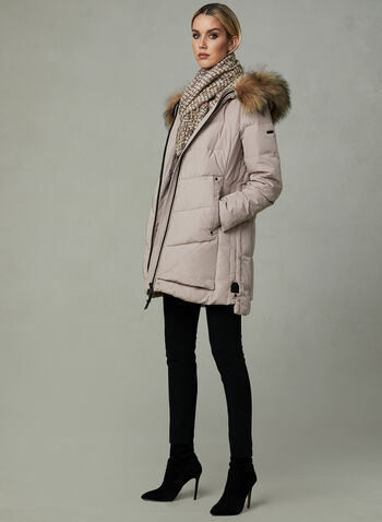 Novelti - Reflective Down Coat, Pink, hi-res
