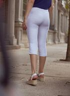 Jacquard Pull On Shorts, White