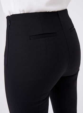Capri avec coutures apparentes, Noir, hi-res