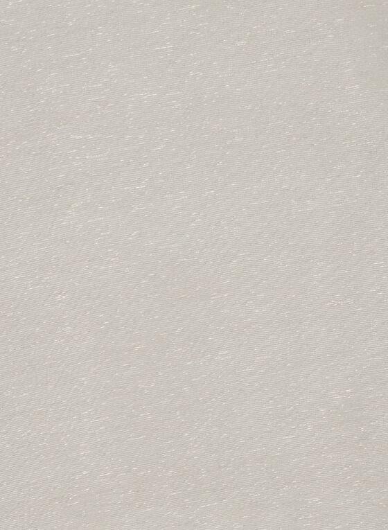 Foulard pashmina en soie, Argent