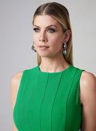 Julia Jordan - Robe en crêpe à panneaux, Vert