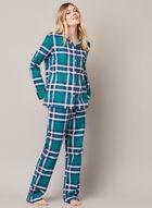Ensemble pyjama à carreaux, Vert