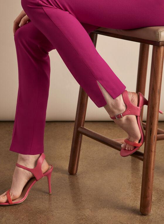 Pantalon Giselle à fentes, Rose